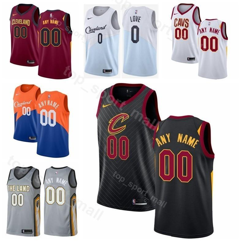 Printed Men Youth Women Cleveland Basketball Cavaliers Kevin Love Jersey 0  Clarkson 8 Collin Sexton 2 Cedi Osman 16 Tristan Thompson 13 UK 2019 From  ... a2efb3d26