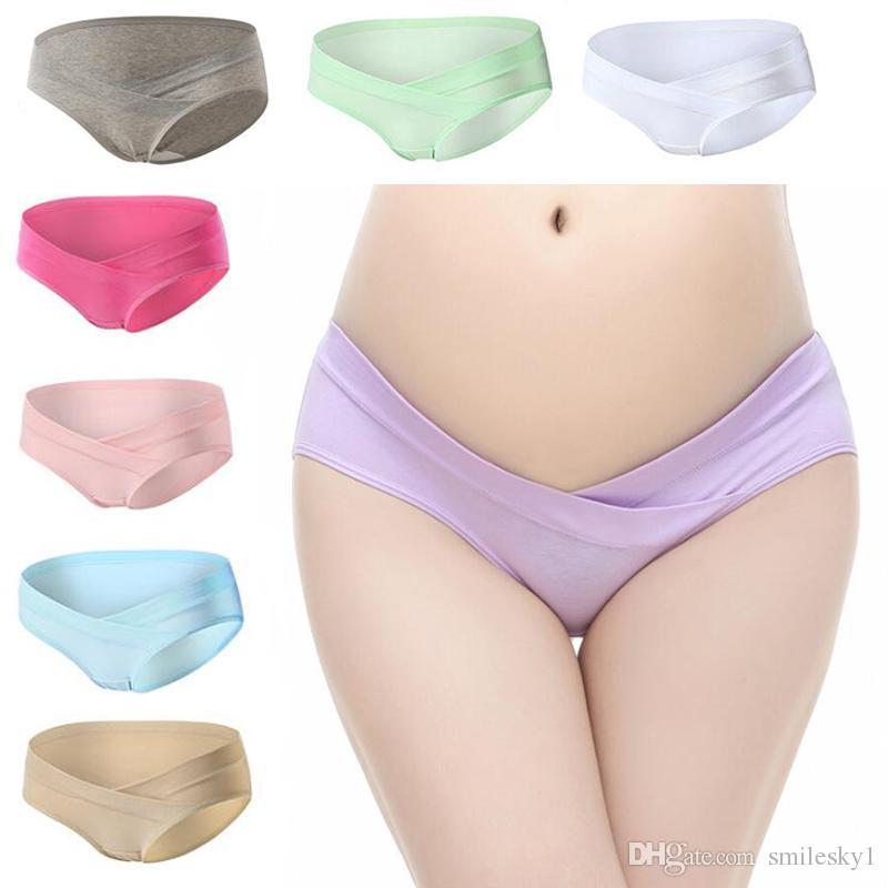 c9dc673f2f1f Underchump de algodón para mujeres Hipsters Bragas Bragas Ropa interior  saludable Ropa interior para mujeres postparto Materias de maternidad