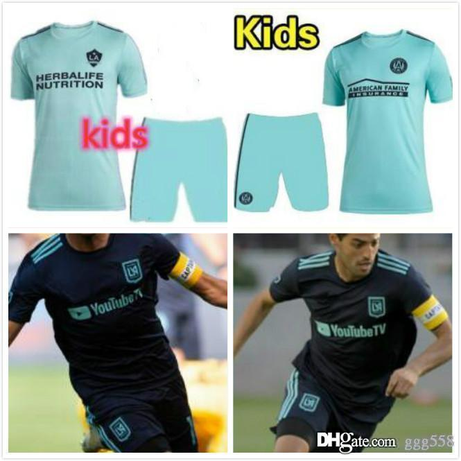new product da456 55c34 kids kit 2019 MLS Parley LAFC SOCCER JERSEYS atlanta united 2020 Parley Los  Angeles GALAXY GREEN JERSEY 19 20 children FOOTBALL SHIRTS