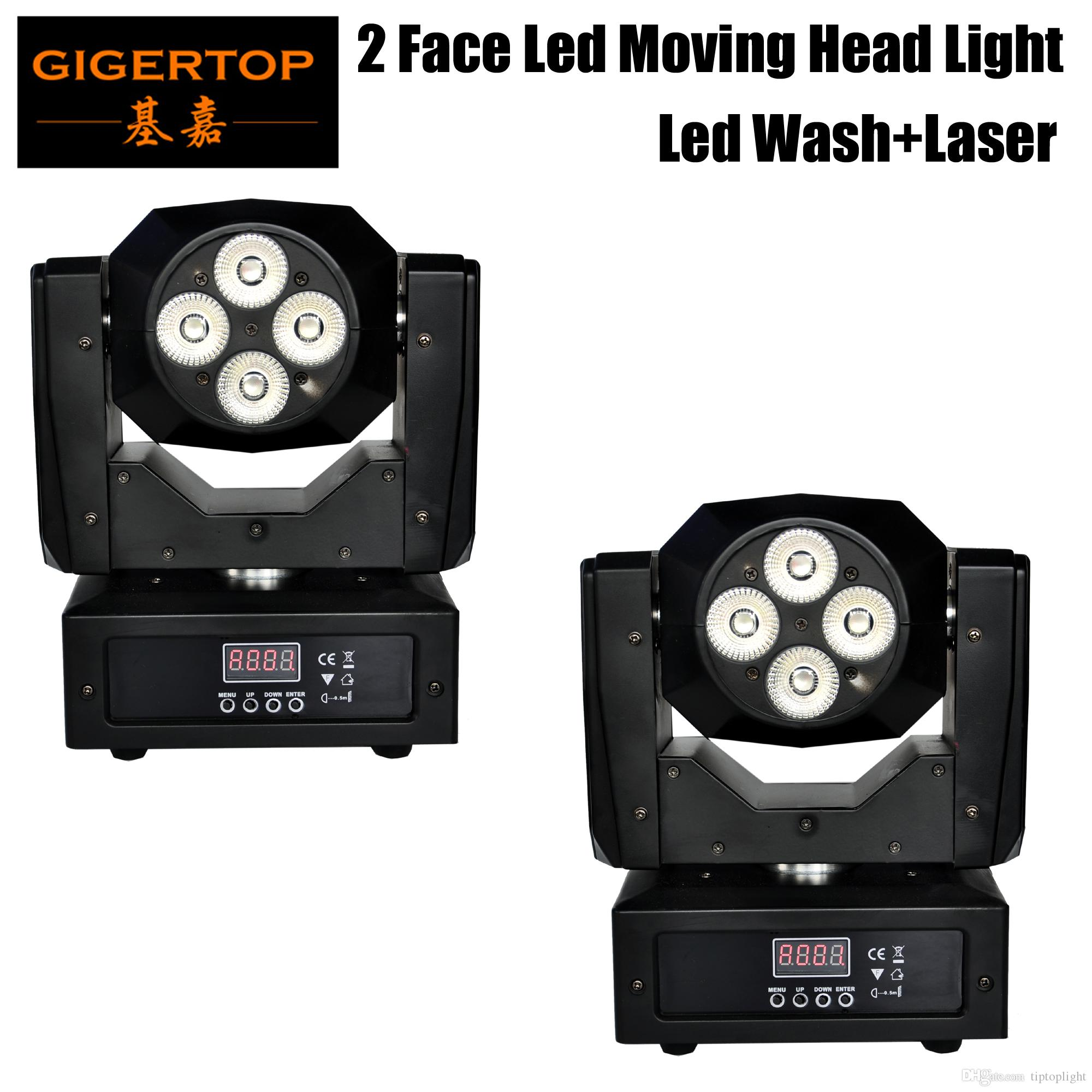 Good Quality 2 Pack Led Moving Head gobo 60w Mini Music Sound Party lumiere  Laser Dj Dmx stage lighting