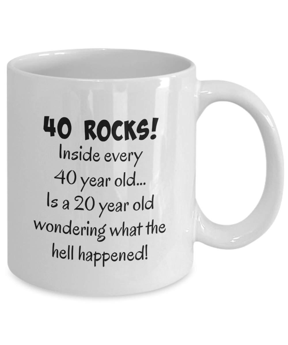 1978 40th Birthday Gifts For Woman Man Wife Husband Guys Fun Gag Gift Present Happy 40 Year Old Coffee Mug Tea Cup Make Custom Mugs