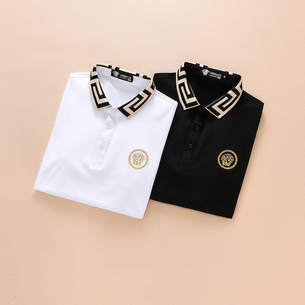 2018 Men Short Top Fashion Sale 2019 Spring Luxury Tee Mens T-shirt ... 4cb89221a