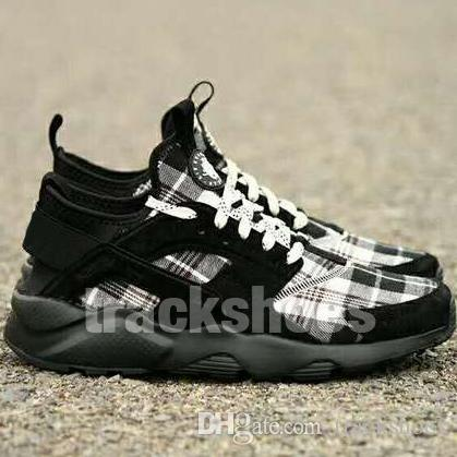 low priced 684a5 8580f Vlone Air Huarache Ultra Made 4 Designer Athletic Shoes High Quality Men  Women Huaraches Run Premium 4s Trainer Sneakers