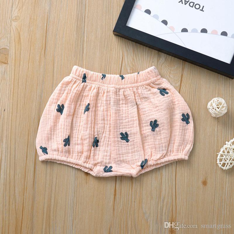Compras on-line PP Calças Baby Girl Shorts da criança Verão Crianças calças unisex casuais Bloomers Briefs Diaper incluir Cueca 20040101