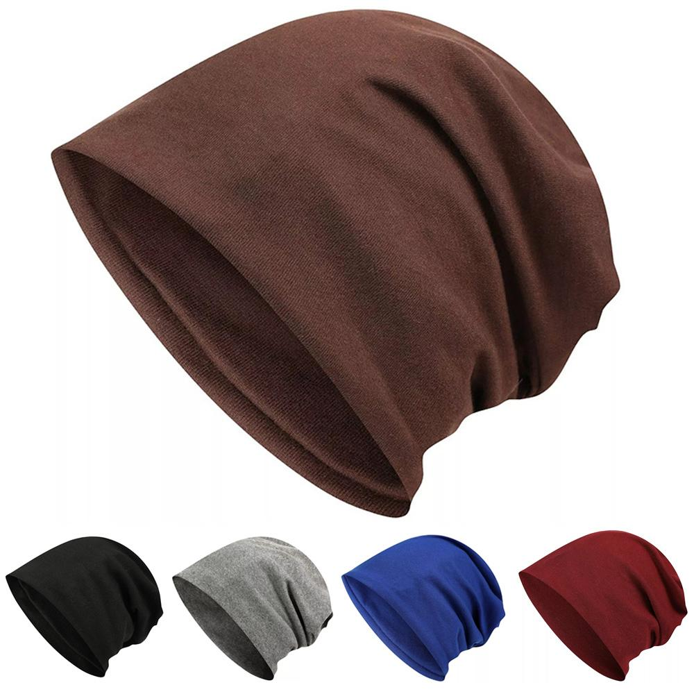 4b1a131524b Women Solid Color Slouchy Beanie Cap Casual Oversized Ski Hat High Quality  Knitted Hats Knit Cap From Clintcapela