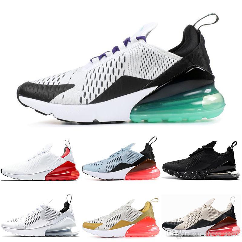 Acquista Nike Air Max 270 Shoes A Buon Mercato All ingrosso Grape 270  Scarpe Da Corsa BARELY ROSE Nero Bianco Corallo Stardust Teal White Red  Volo Oro Hot ... a705bb54208