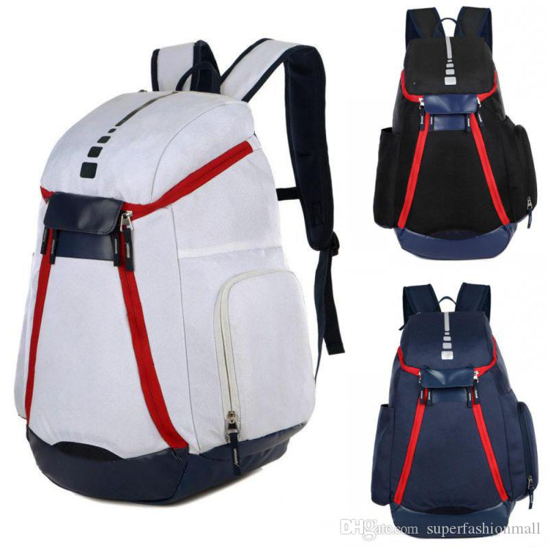 a7b8701df29c1f New National Team Backpack The Olympic Mens Womens Designer Bags Teenager  Black White Blue Outdoor Basketball Backpack 3 Colour Swiss Backpack Laptop  ...