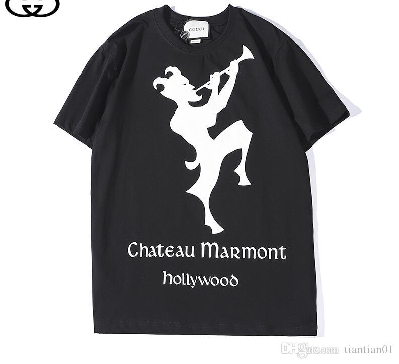 941e03be49ea 19ss Luxury Summer Printing Label Men S Cotton Men S Cotton Designer T Shirt  Fashion T Shirt Men S Brand Short Sleeve T Shirt With Online Shop T Shirt  From ...
