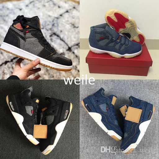 11s Sneakers 6 Scarpe Travis Nero Jeans 1s Da 4s Basket Uomo 11 Ls Blu Taglia Denim 7 13s 4 Ginnastica Sportive 13 PkuTXZOi