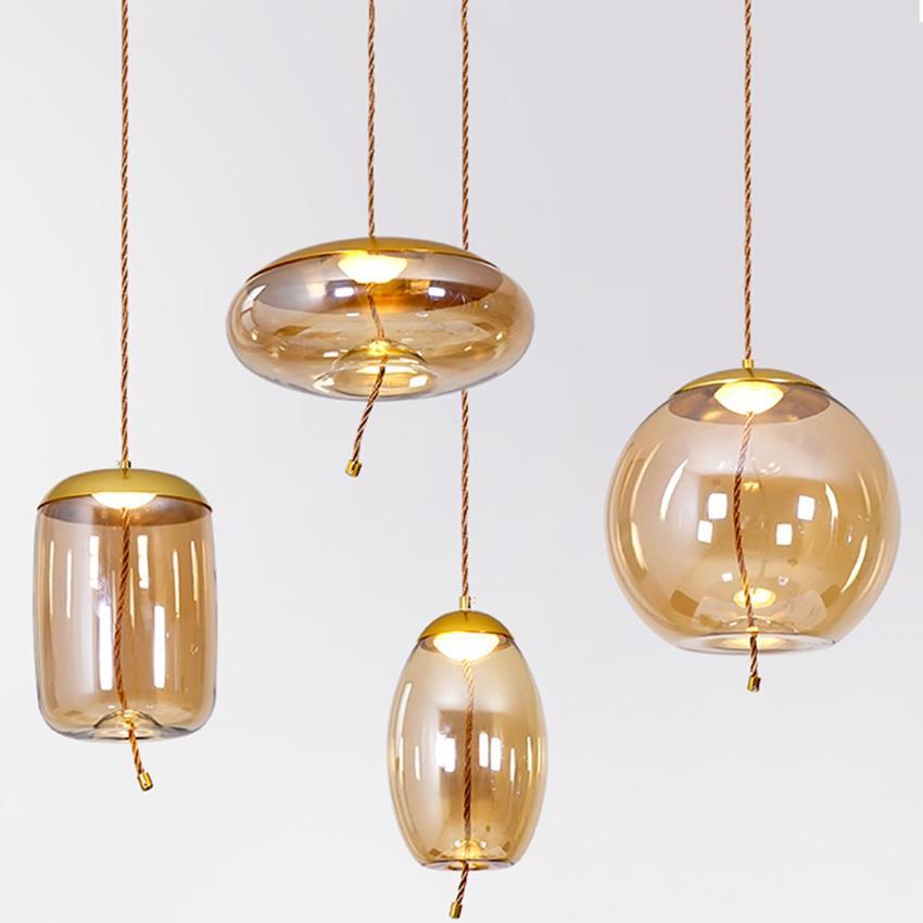 Acheter Bar Moderne Led Lampe Suspendue Restaurant Creatif Au Chevet