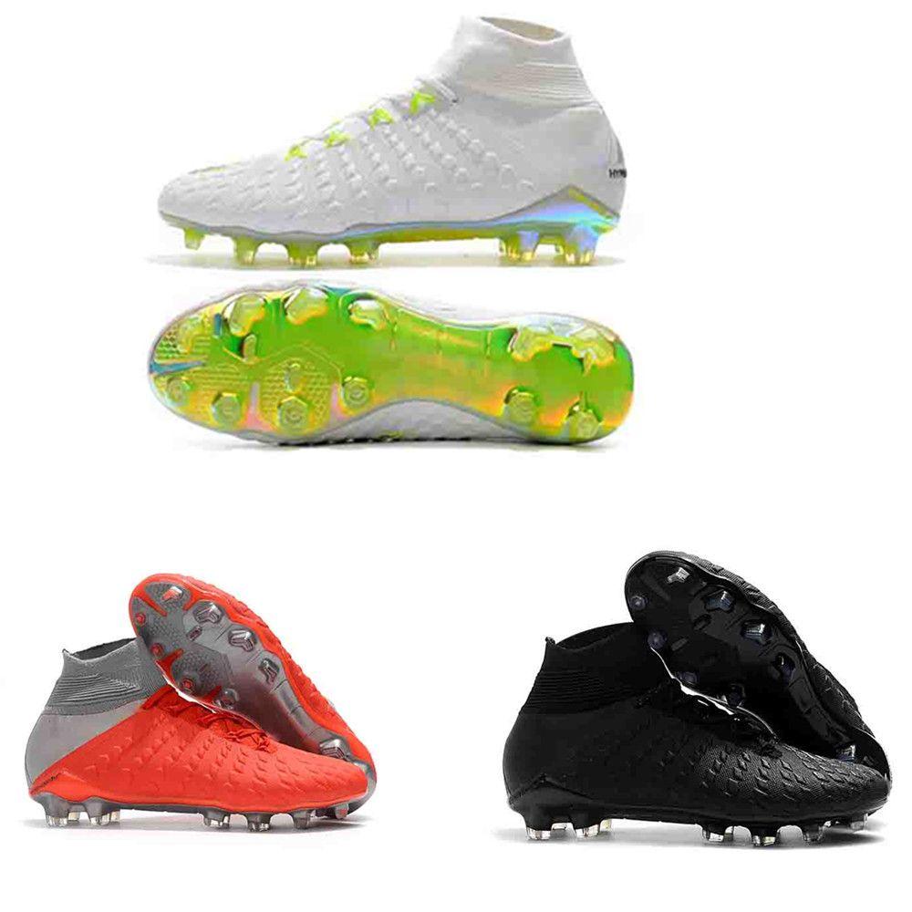 100% authentic c4afc 9825a Compre 2018 Botines De Fútbol Al Aire Libre De Calidad Superior Hypervenom  Phantom Raised On Concrete Trainers Botas De Fútbol Para Hombre Zapatos De  Fútbol ...