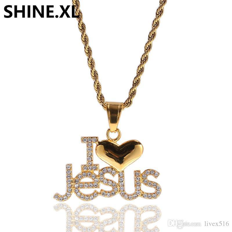 HIP HOP ICED OUT LAB DIAMOND WHITE GOLD PLATED BLING 3D JESUS BODY CROSS PENDANT