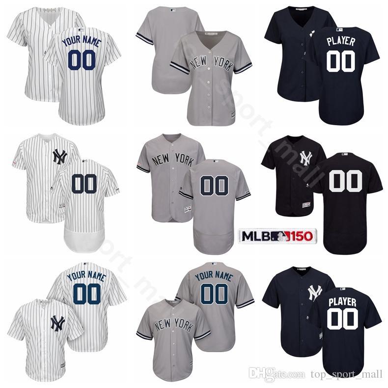 on sale d64ca b11ff Men Kids Women Yankees Jersey Baseball Aaron Judge Brett Gardner DJ  LeMahieu Clint Frazier Masahiro Tanaka Derek Jeter Mickey Mantle