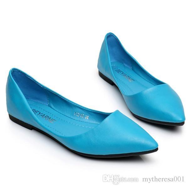 3d3f171a6ac9 MTA0008 Womens Sandals Shoe Woman Genuine Leather Flat Shoes Fashion Hand  Sewn Leather Loafers Female Hole Hole Shoes Women Flats Dress Shoes Wedge  Shoes ...