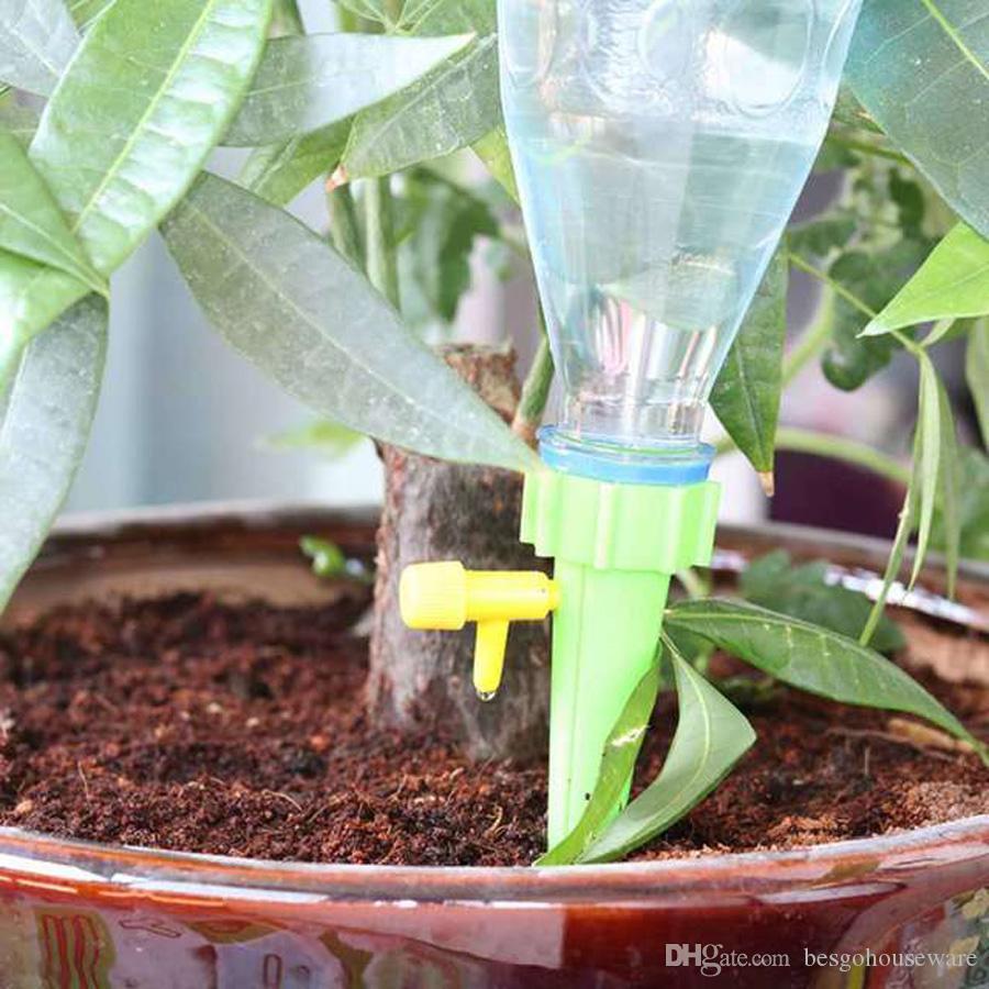 Arrosage Automatique D Intérieur plante d intérieur fleur jardin dispositif d arrosage bricolage automatique  plante abreuvoir cône forme plante goutte à goutte auto-arrosage