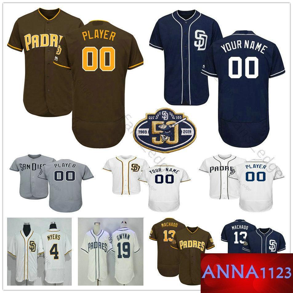 sale retailer f5da6 5ca82 Custom San Diego #43 Garrett Richards 5 Greg Garcia 10 Hunter Renfroe 3 Ian  Kinsler Padres Men Women Kids Youth Baseball Jerseys