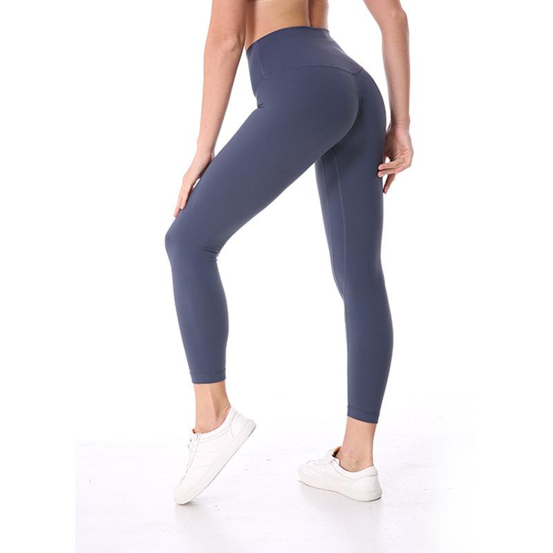6dfda64dd7924d 2019 Nwt 2018 Eshtanga Sports Tight Top Quality Women Yoga Running Pant  High Elastic Waist Solid Skinny Stretch Leggings Size Xs Xl C19041702 From  Xiao0002, ...