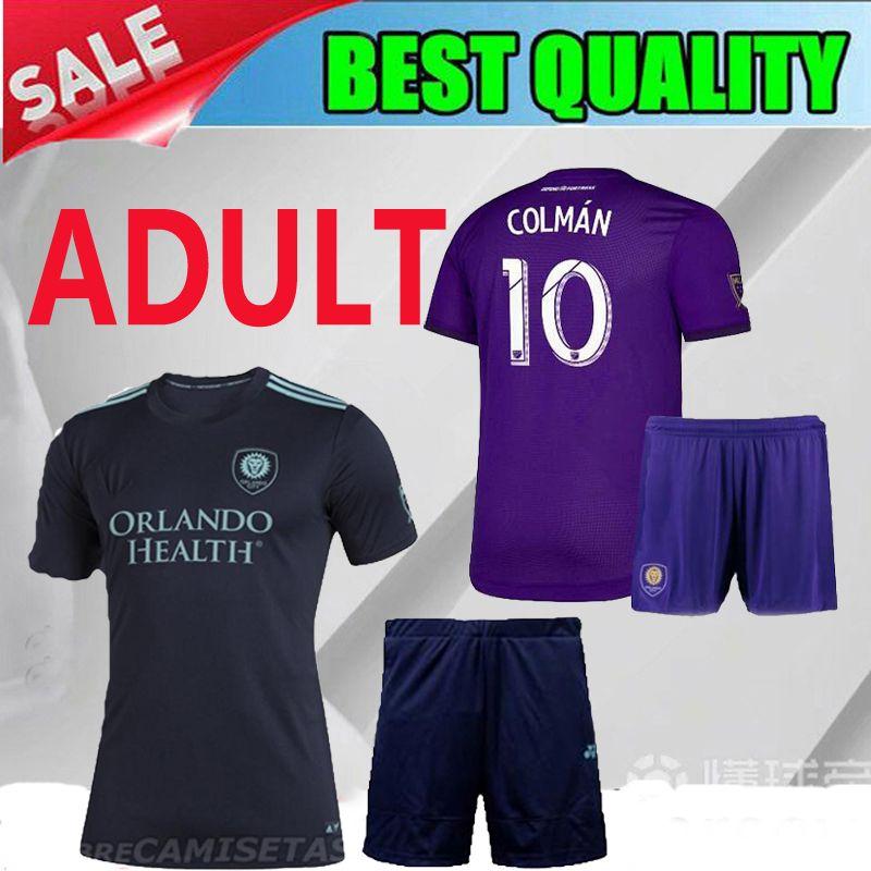 reputable site 7f60d d2cec 2019 2020 Orlando City Parley ADULT KAKA soccer jersey 19 20 Orlando City  home COLMAN DWYER Soccer Shirt purple MEN Football uniforms