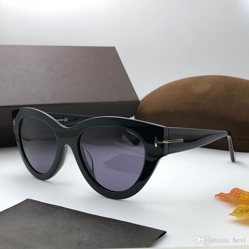 06c996b2b3 Luxury Men And Women Brand Sunglasses 658 Retro Round Frame Fashion ...
