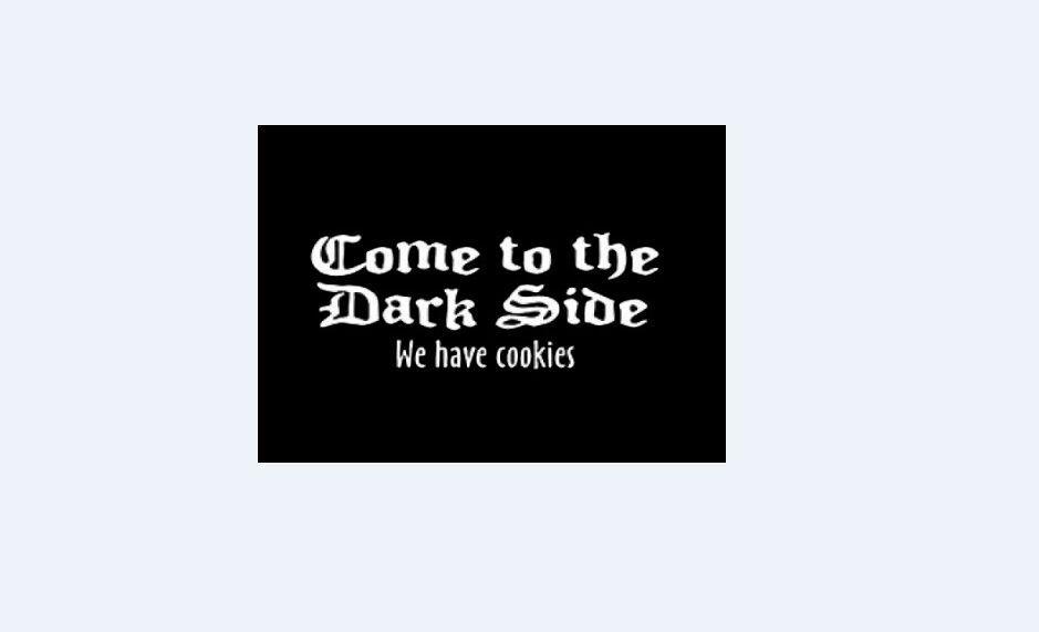 70933f11c COME TO THE DARK SIDE WE HAVE COOKIES SHIRT TSHIRT T SHIRT Men Women Unisex  Fashion Tshirt Funny Cool Top Tee Black Unique T Shirts Cheap T Shirts  Online ...