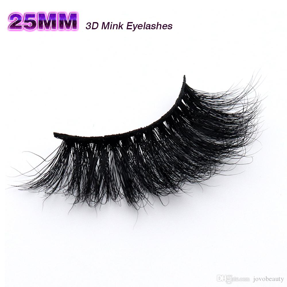 5af8edc84c6 JOVOBEAUTY 19 Styles 3D Mink Eyelashes Soft 100% Handmade 25mm Natural Fake  Eye Lashes Gift Box Packaging Lashes Eyebrow Extensions From Jovobeauty, ...