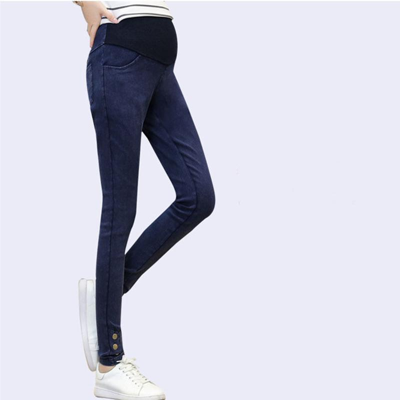 a497ab4e88710 2019 Maternity Pants For Pregnant Women Jeans Plus Size Casual Trousers  Nursing Prop Belly Pregnancy Clothing Overalls Fall Overalls From Friendhi,  ...