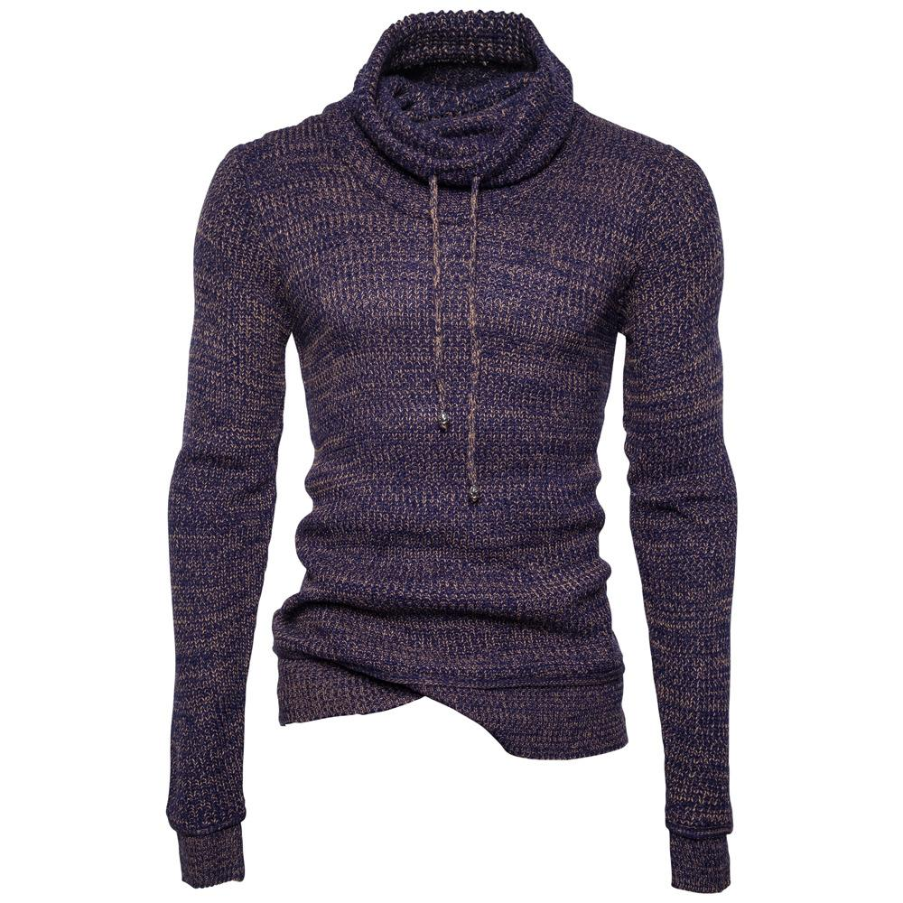 4c756664e 2019 Men S Sim Fit Turtle Neck Sweaters For Spring Autumn Cool ...
