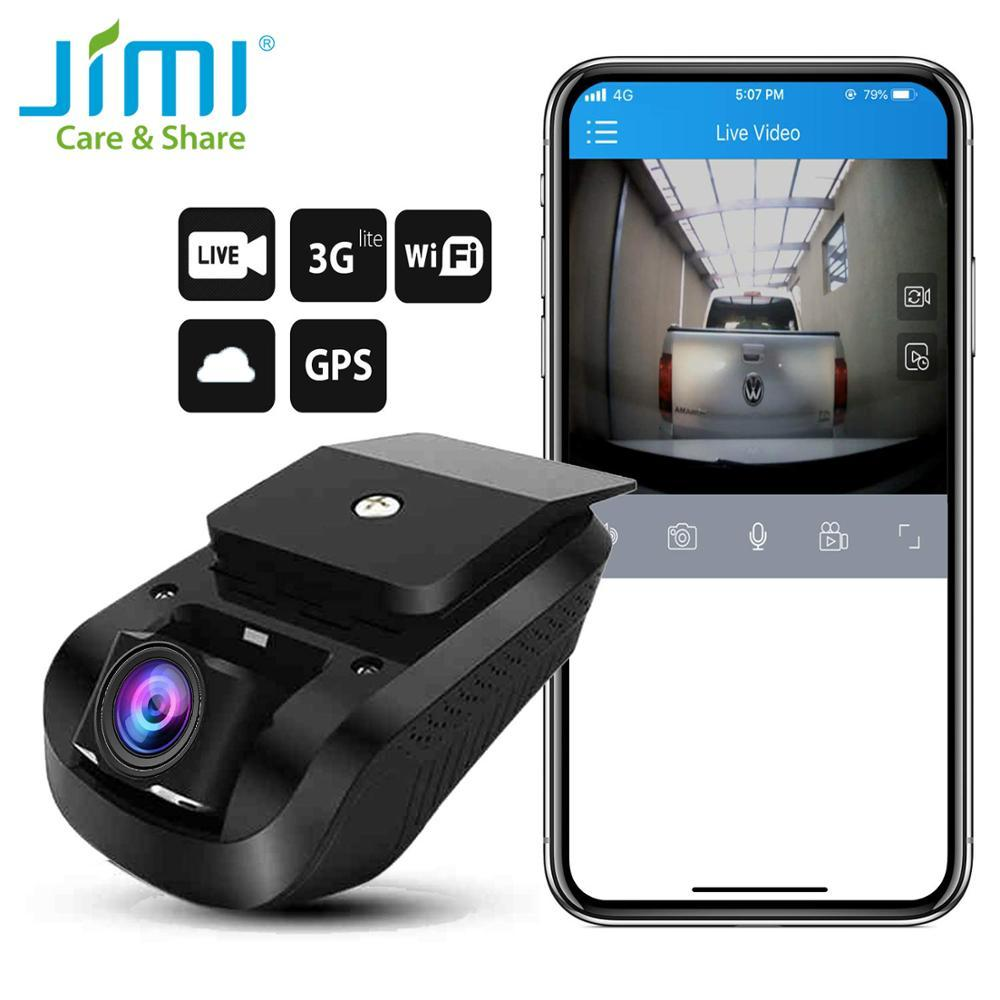 JIMI Unique JC100 3G Smart GPS Tracking Dash Camera Car Live Stream Video Recorder & Monitor by PC Web APP Car Video Dash Camera