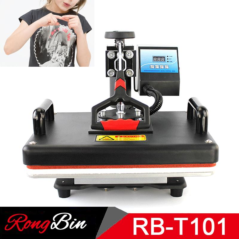 11a1810c3 12x15 Inches Heat Press Machine T Shirt Printing Machine Digital Swing  29x38 CM Heat Transfer Sublimation Printer Cloth DIY Small Printers  Smallest Printer ...