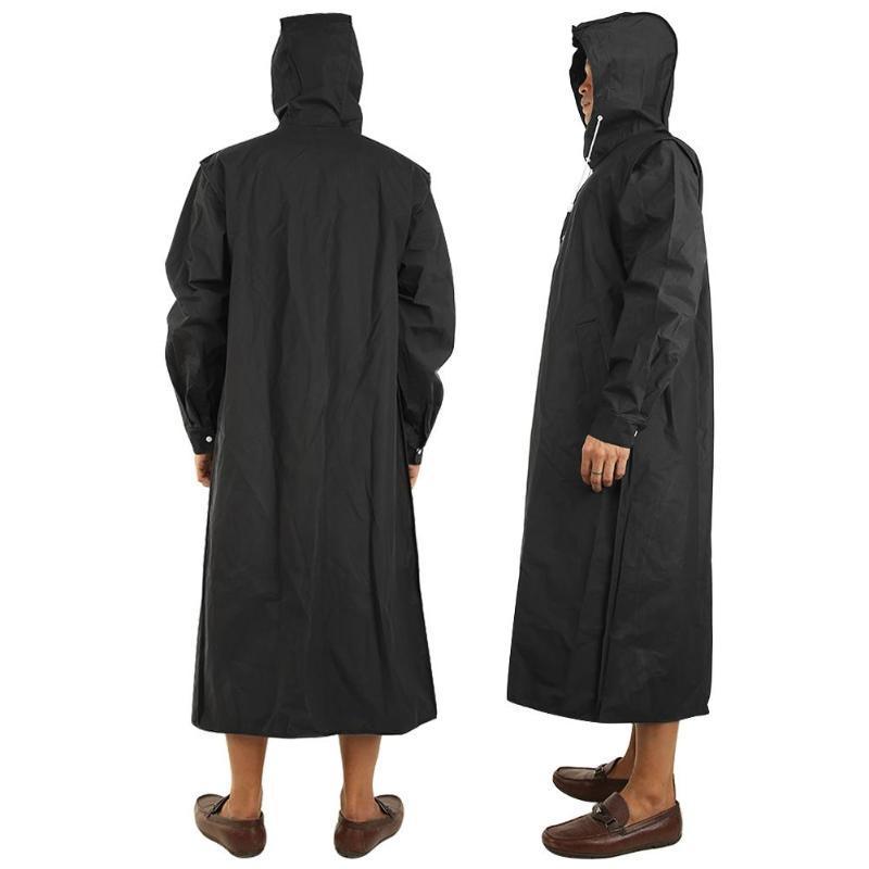 Thicken EVA Adults Raincoat for Men Women Waterproof Rain Coat Outdoors Travel Camping Fishing Rainwear Suit High Quality