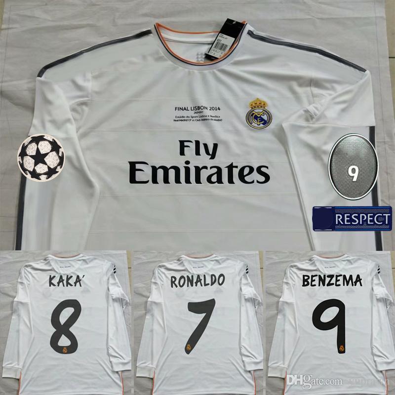 timeless design e4894 46a12 13 14 Soccer Jerseys Cristiano Ronaldo Real Madrid Bale PEPE Marcelo Sergio  Ramos Benzema camisetas 2013 2014 Football Shirts