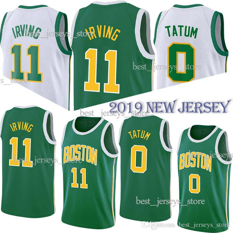 3f65dc61fd4 2019 11 Irving 0 Tatum Basketball Jerseys 7 Brown 42 Horford 20 Hayward  High Quality Jersey 2019 Men From Best jerseys store