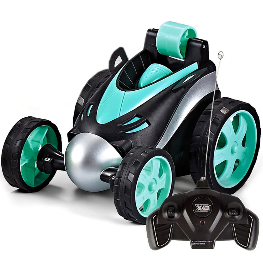 Regalo Kids Desert Remote Model Stunt Tumbling Funny Off Road a quattro ruote motrici Mini Electric Racing Toys RC Car