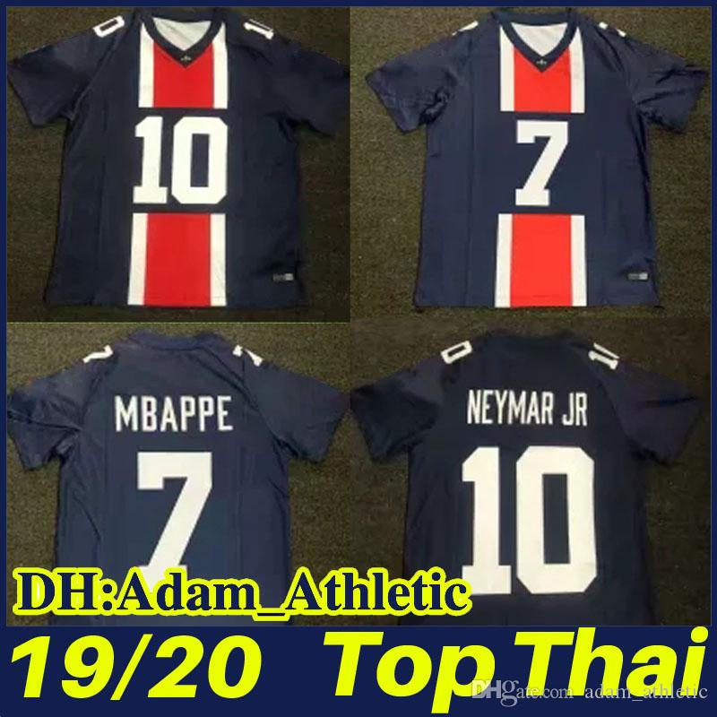 bf590c057 2019 2020 PSG Limited Edition American Football Jersey MBAPPE CAVANI ...