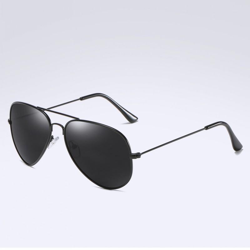 274937791eab4 Acheter Mode Lunettes De Soleil D aviation Pour Femmes Hommes Pilote De  Conduite Lunettes Noir Cadre Miroirs Lunettes De Soleil Goggle UV400 Gafas  De Sol De ...