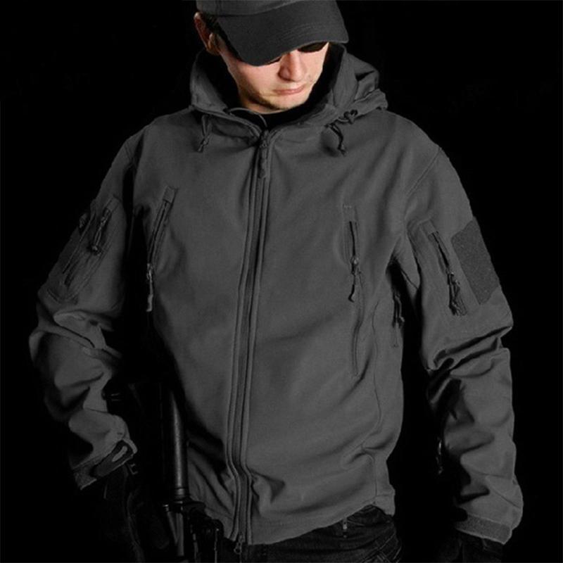 Großhandel 2019 Softshell Tactical Jacket Outdoor Wandern Jagd Swat