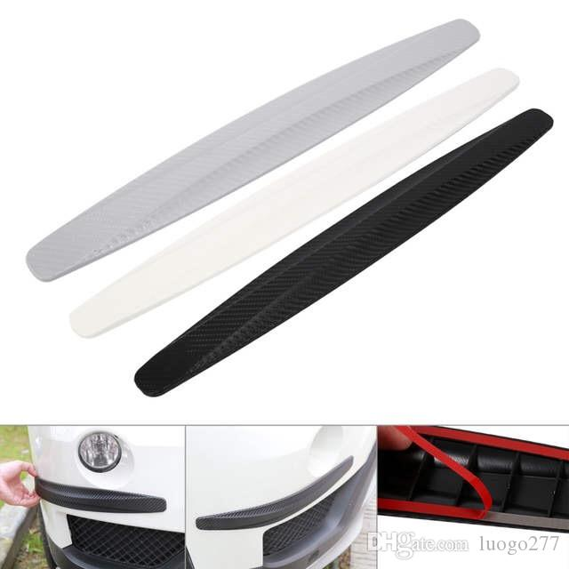 1 Pair Car Bumper Protector Corner Guard Anti-Scratch Strips Sticker Protection Body Protector Moldings Valance Chin car styling