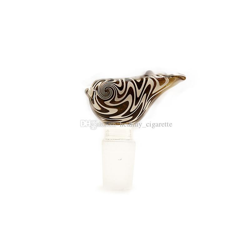 14mm 18mm Glasschüssel Male Schüsseln Glas Rauchen Bowl Für Dab Rigs Wasserrohre Recycler Glasbongs Aschfänger Rohr