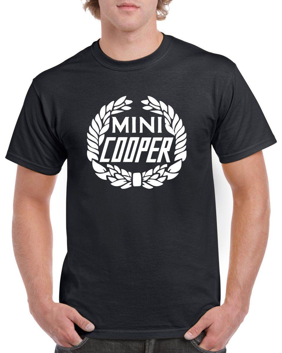 Mini Cooper Rund Logo 100 Cotton T Shirt Mit Rundhalsausschnitt