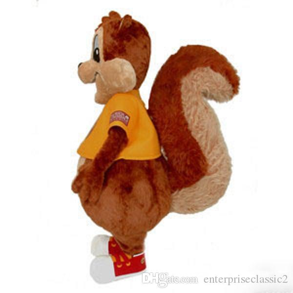 Squirrel monkey big money dog mascot costumes props costumes Halloween free shipping