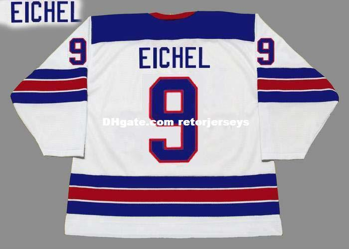huge selection of 534cc af978 Cheap customize JACK EICHEL 2014 USA Retro Top Hockey Jersey Mens Stitched  Personalized Jerseys