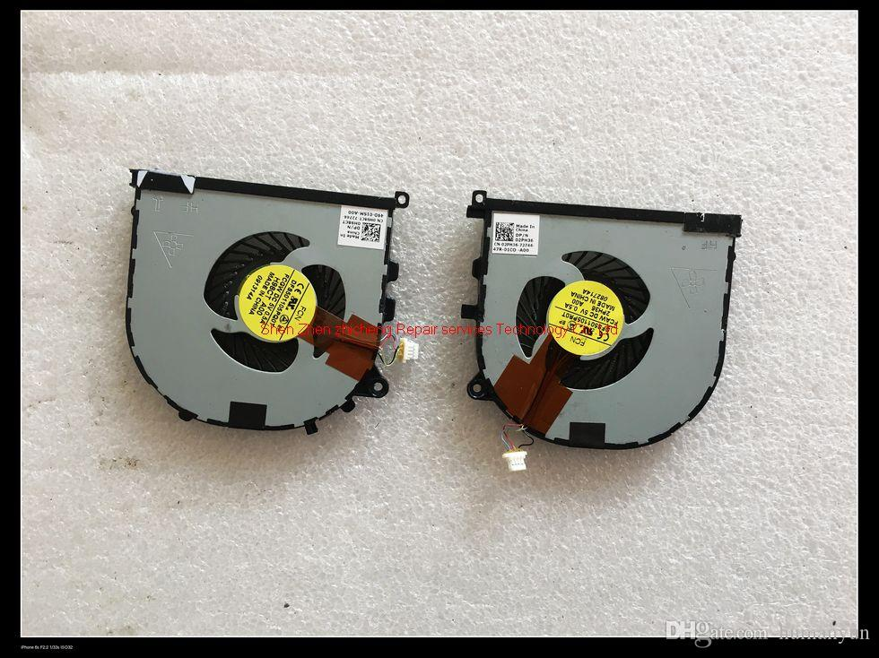 For DELL Precision M3800 XPS 15 9530 laptop GPU cooling heatsink 8D7GK  AT0YI0010C0 left right Fan 0H98CT 02PH36