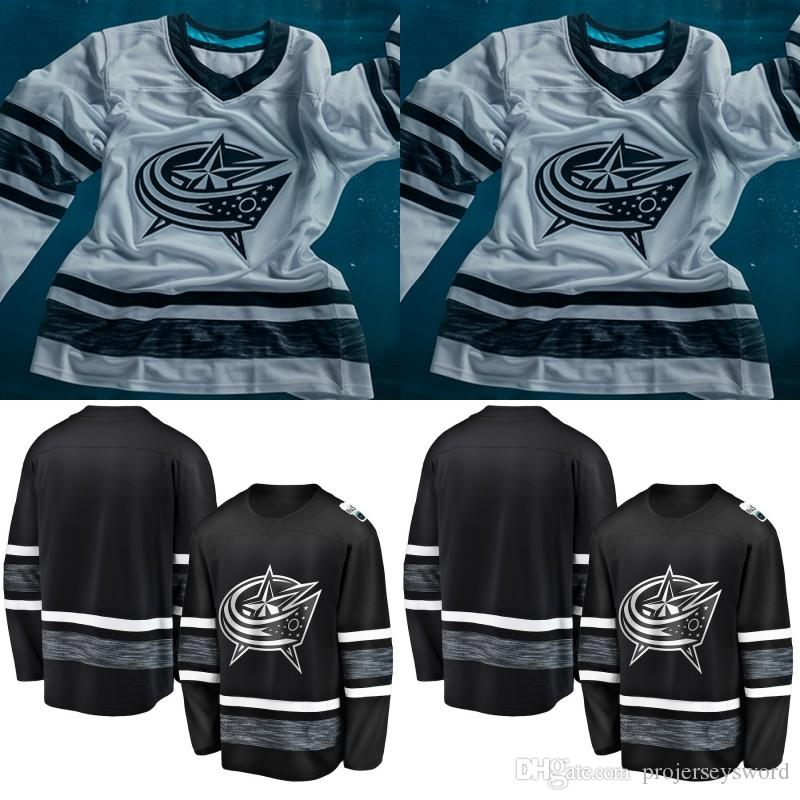 promo code 78653 98454 Columbus Blue Jackets 2019 All-Star Game Jersey Mens 3 Seth Jones 8 Zach  Werenski Cam Atkinson Nick Foligno Sergei Bobrovsky Hockey Jerseys