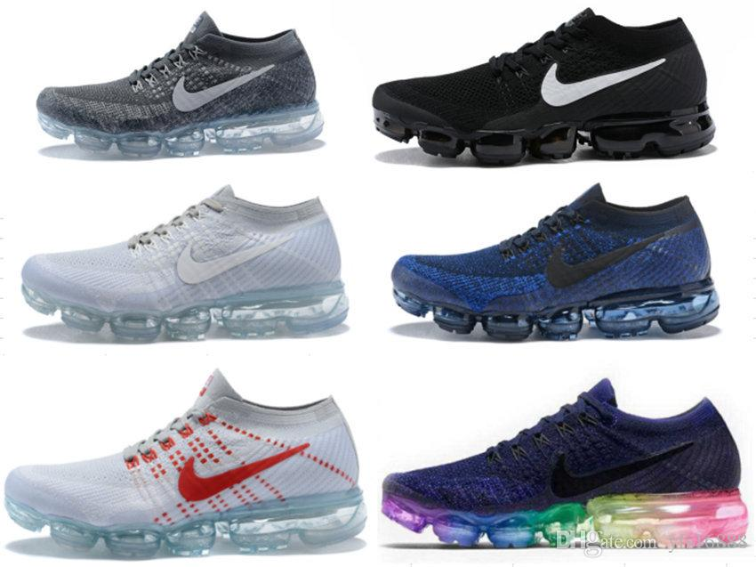 9bbb134f3d1af 2019 New Air Cushion Bottom Running Men Sport Shoes Women Sport ...