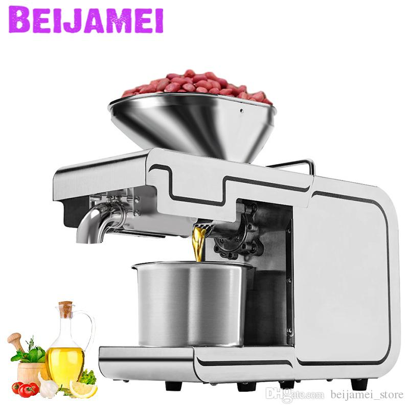BEIJAMEI Home Commercial Use Oil Press Machine / electric sunflower Oil Extractor / vegetable Seeds oil making price