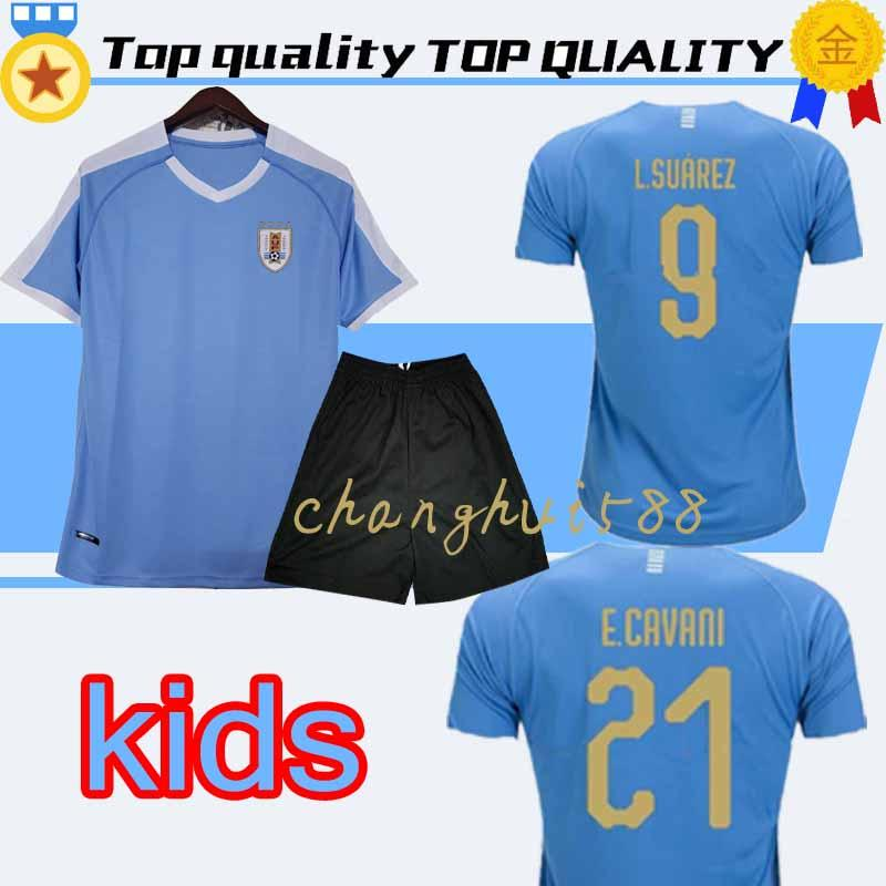 57e6cb5c 2019 2019 URUGUAY HOME AWAY KIDS SOCCER JERSEYS RODRIGUEZ 7 CAVANI SUAREZ  2020 CHILD JERSEY FOOTBALL SHIRTS KIT From Changhui588, $20.3 | DHgate.Com
