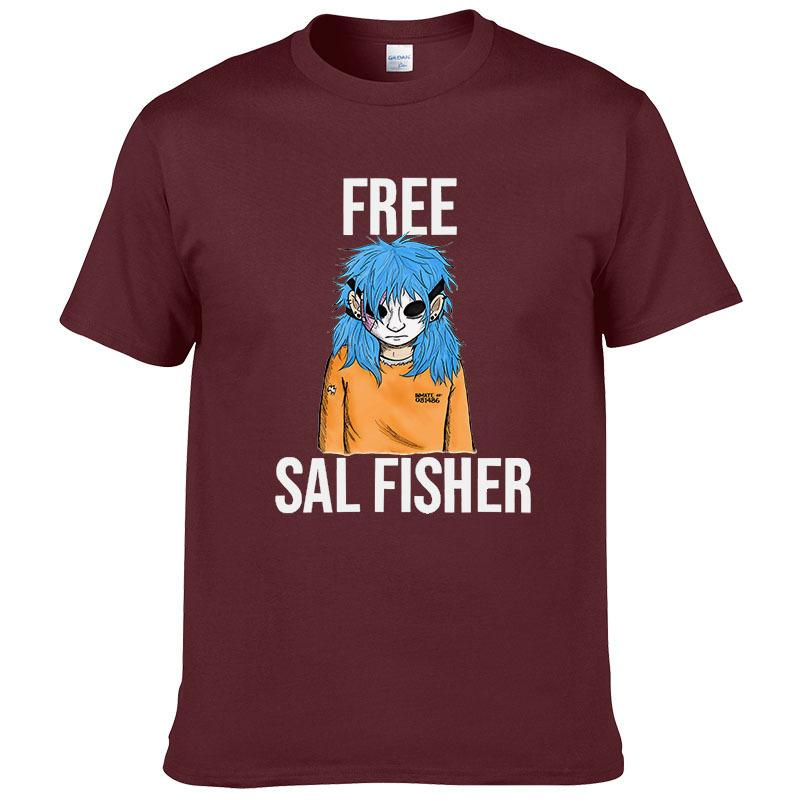 3e8d374a 2019 New Sally Face T Shirt Streetwear Male T Shirt Harajuku Tops Funny For  Clothing Men Tees Free Sal Fisher T Shirt Male Cool Fun Tee Shirt Shop  Online T ...