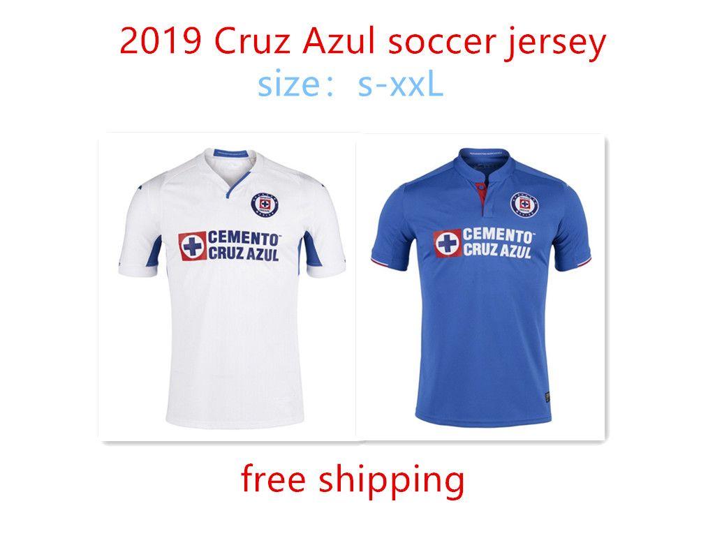 e2e7f5ac82d39 Compre Envío Gratis 2019 Cruz Azul Camiseta De Fútbol Hogar Lejos 19 20  CDSyC Cruz Azul CAUTE HERNANDEZ CARAGLIO MENDEZ Camiseta De Fútbol A  13.71  Del ...