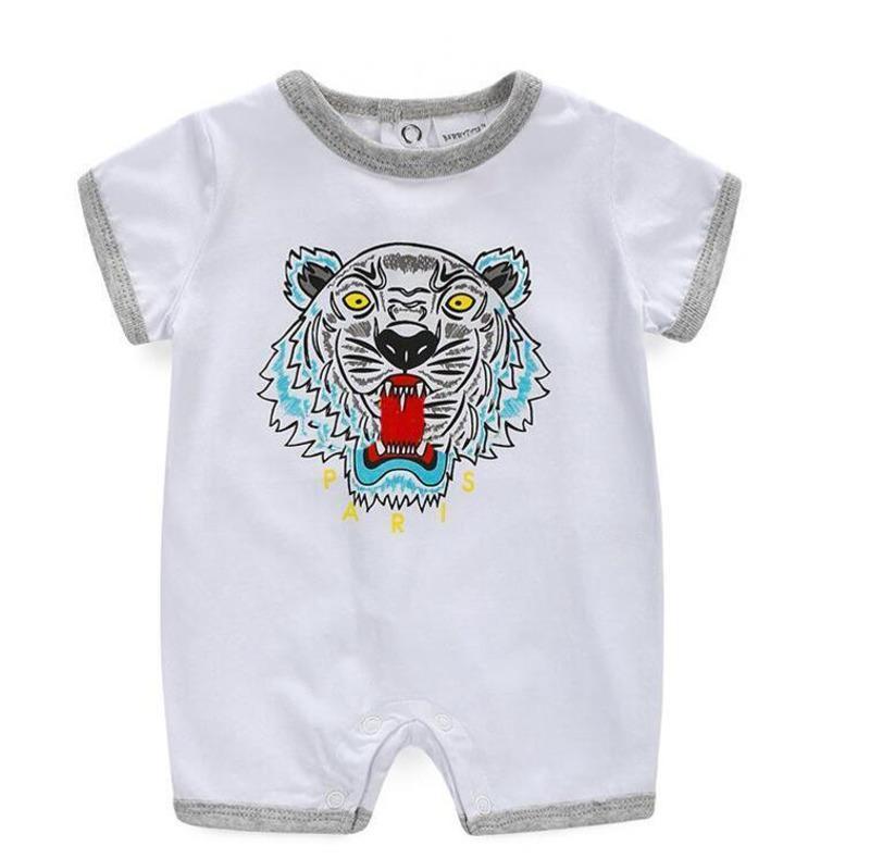 7b619cd9380 2018 New Baby Bodysuit Rompers Summer Comfortable Girl Onezies ...