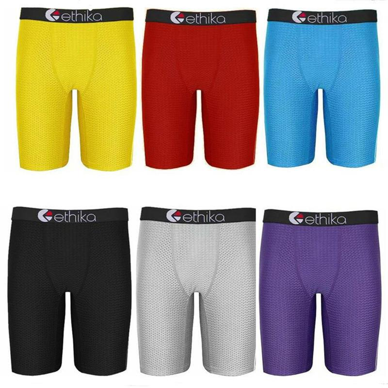 87328ba330 2019 S 2XL Ethika Underwear Women Men Swim Trunk Boxers Sports Hip Hop Rock  Underwears Skateboard Street Designer Quick Dry Legging Shorts A22501 From  ...